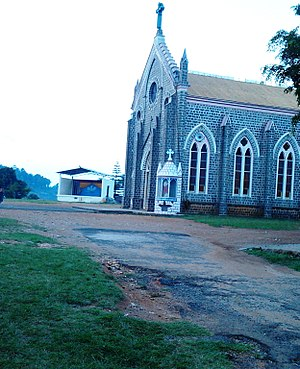 Christianity in Tamil Nadu - Church at Yercaud