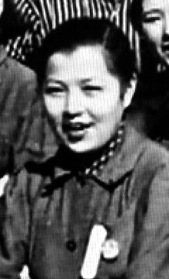 Yōko Yaguchi - Yaguchi in 1944, on the set of The Most Beautiful