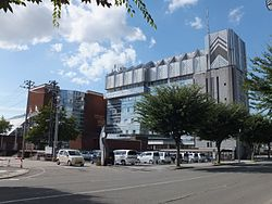 Yokote City Hall Yokote branch and Kamakura-kan Hall.jpg