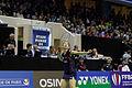 Yonex IFB 2013 - Quarterfinal - Tian Qing - Zhao Yunlei vs Misaki Matsutomo - Ayaka Takahashi 08.jpg
