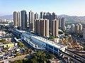 Yuen Long Station Site Aerial view 201712.jpg