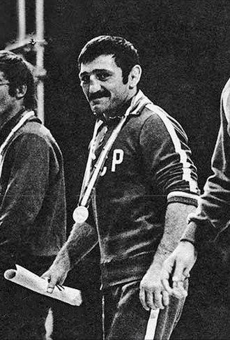 Zagalav Abdulbekov - Abdulbekov at the 1973 World Championships