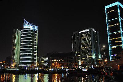 Skyline of Jabiyah City