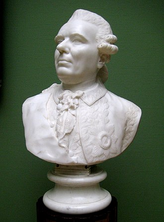 Zakhar Chernyshev - Marble bust by Fedot Shubin, 1774