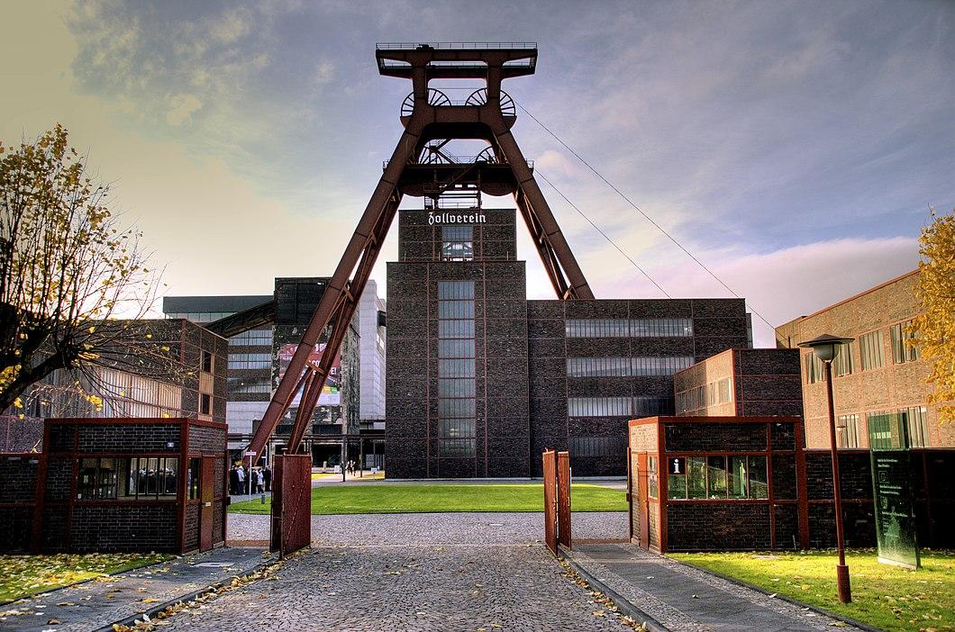 Schacht XII (Zentralschacht) der Zeche Zollverein in Essen