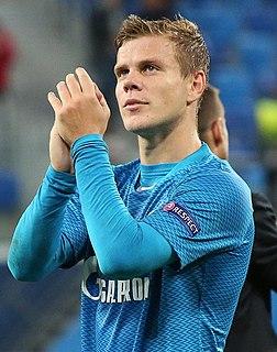 Aleksandr Kokorin Russian footballer