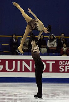 Wang Lei (figure skater) - Wikipedia
