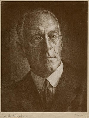 Royal Photographic Society - J. Dudley Johnston  (photo by Franz Ziegler, 1929)