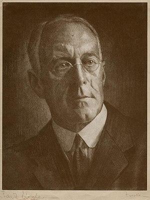 Royal Photographic Society - J. Dudley Johnston  (photo by Franz Ziegler, 1929)