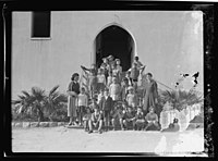 Zionist activities around Haifa. Haifa, Kindergarten class near the Technical School LOC matpc.15206.jpg
