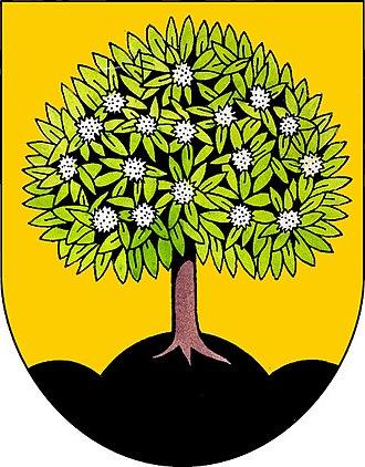 Nasavrky - Image: Znak obce Nasavrky