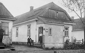 Zofiowka (Trochenbrod) Post Office, Poland.jpg