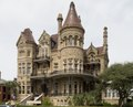 """""""Bishop's Palace,"""" also known as Gresham's Castle, an ornate Victorian-style house, located on Broadway and 14th Street in the East End Historic District of Galveston, Texas LCCN2013650798.tif"""