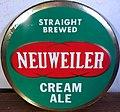 """""""NEUWEILER CREAM ALE""""- 1960 - Neuweiler Beer Sign - Allentown PA (cropped).jpg"""