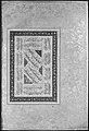 """Portrait of Mulla Muhammad Khan Vali of Bijapur"", Folio from the Shah Jahan Album MET 181897.jpg"