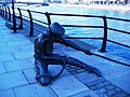 """The Linesman"" Sculpture on City Quay - geograph.org.uk - 423792.jpg"
