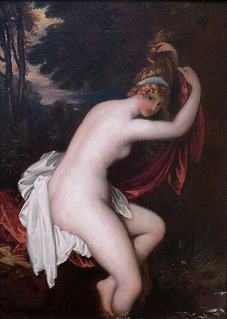 Arethusa (mythology) - Arethusa by Benjamin West (1802)