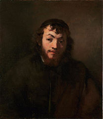 Portrait of a Young Man with Beard and Skullcap