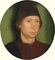 Retrat d'un home, de Hans Memling . col.Thomas Barlow