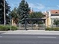 'Sárvár, kórház' bus stop, 2020 Sárvár.jpg