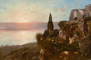 View on Lake Nemi