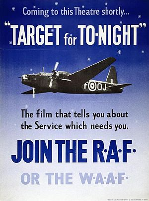 Target for Tonight - Original theatrical poster