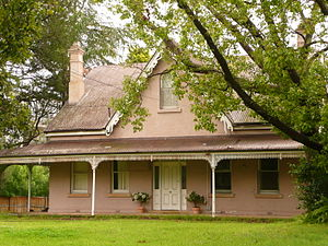 Castle Hill, New South Wales - Verandahed bungalow, Benaara Garden