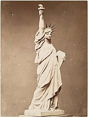 (Model of the Statue of Liberty.) (3110144866).jpg