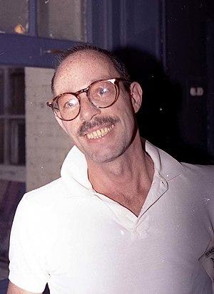 Vito Russo photo by Massimo Consoli (1989)