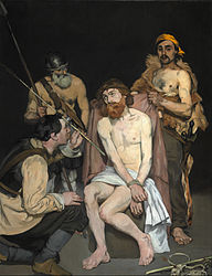 Édouard Manet: Jesus Mocked by the Soldiers