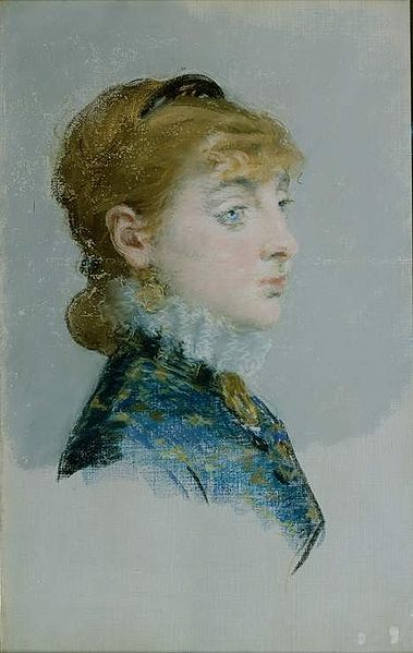 Datei:Édouard Manet - Mademoiselle Lucie Delabigne.jpg