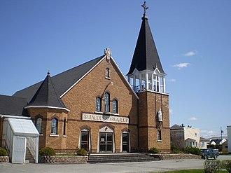 Barraute, Quebec - Image: Église Barraute