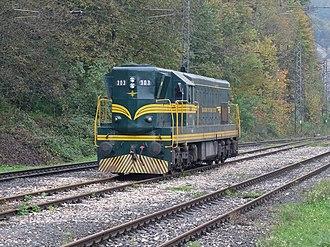EMD G16 - Image: ŽRS 661 303