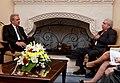 Συνάντηση ΥΠΕΞ Δ. Αβραμόπουλου και Προέδρου Κυπριακής Δημοκρατίας Δ. Χριστόφια (7485934454).jpg