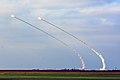 Бойові стрільби зенітних ракетних підрозділів Повітряних Сил та Сухопутних військ ЗС України (31894603168).jpg