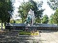 Братська могила радянських воїнів, с. Вершина Друга, біля клубу, Більмацький район, Запорізька область.jpg