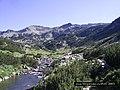 Бъндеришка река и Дончови караули,Banderica river end Danchovi karauli peak - panoramio.jpg
