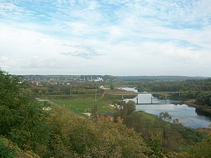 Rylsk, Russia - View of Rylsk