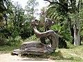 Гагра. Приморский парк. Скультура девушки - panoramio.jpg