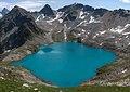 Голубое Муруджинское озеро, вид с высоты 3200 m.jpg