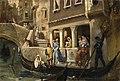 Котарбинский В. А. Посадка почетных венецианцев в гондолу.jpg