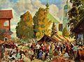 Кустодиев Ярмарка в деревне 1919.jpg