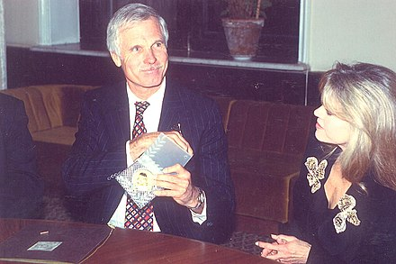 Media magnate Ted Turner purchased the team in 1976, and played a large role in the team's operation. Mezhdunarodnaia Leonardo-premiia 10.1.jpg