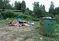 Невская Дубровка 17 августа 2011 У гаражей горит свалка - panoramio.jpg