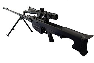 Anti-materiel rifle - Russian heavy semi-automatic sniper rifle chambered for the 12.7×108 mm round.