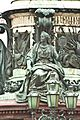 Памятник Николаю I Императору. Четыре аллегорические фигуры, «Сила», «Мудрость», «Правосудие» и «Вера» Скул. Р. К. Зал - panoramio (1).jpg