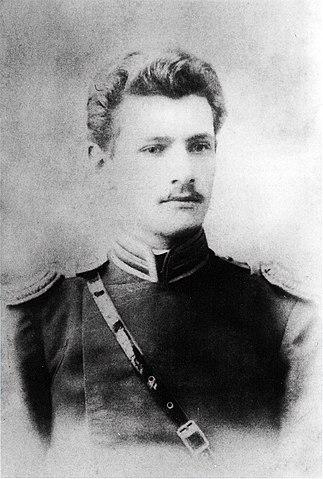 Подпоручик Владимир Арсеньев, 1900 год