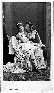 История театра в России Википедия Спектакль Прекрасная Елена в Александринском театре 1870 е Фотография Карла Бергамаско
