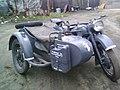 Реплика мотоцикла BMW R75, оригинал Урал М-62.jpg