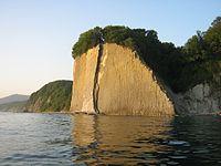 Скала Киселёва, вид с моря.JPG